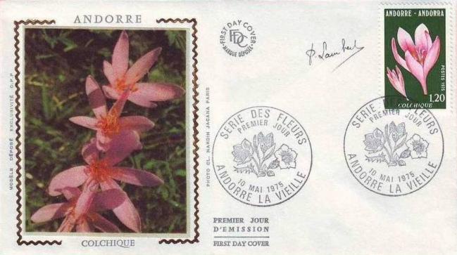 44 247 10 05 1975 fleur des vallees d andorre le colchique