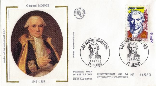 44 2667 13 10 1990 gaspard monge