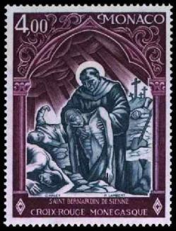 45 1005 13 05 1975 croix rouge monegasque st bernard de sienne 1