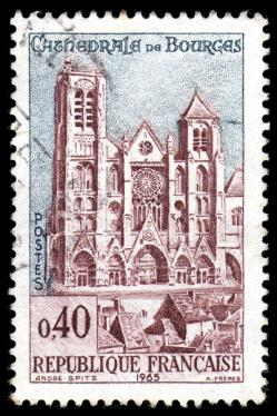 45 1453 1965 cathedrale de bourges
