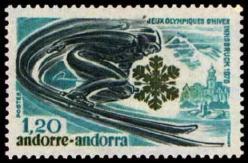 45 251 30 01 1976 jeux olympiques d hiver a innsbruck epreuve de descente