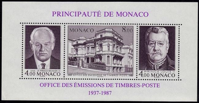 45bis bf39 17 11 1987 cinquantenaire de l office des timbres poste