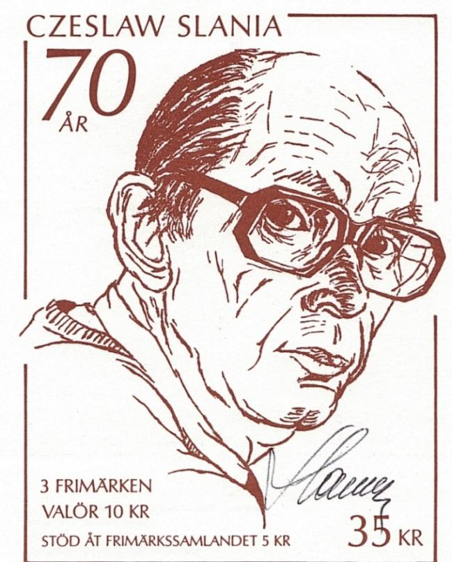 47 05 10 1991 70eme anniversaire czeslw slania