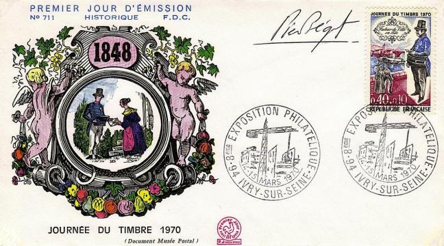 48 1632 14 03 1970 journee du timbre