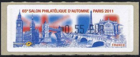 50 04 11 2011 65eme salon philatelique d automne paris 2011