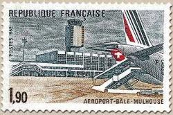 50 2203 13 03 1982 aeroport de bale mulhouse