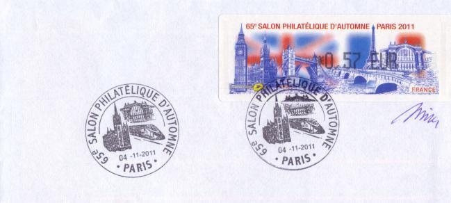 51 04 11 2011 65eme salon philatelique d automne paris 2011