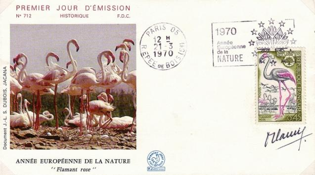 51 1634 21 03 1970 flamant rose