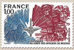 53a 1890 17 07 1976 centenaire du corps des officiers