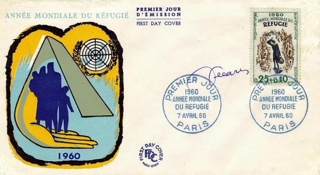 54 1253 07 04 1960 annee mondiale refugie
