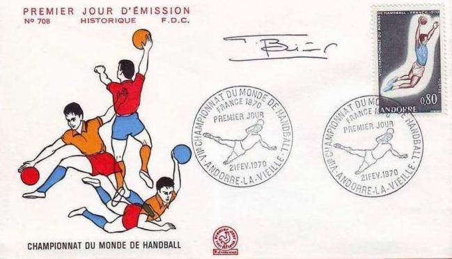 56 201 21 02 1970 7e championnat du monde de handball