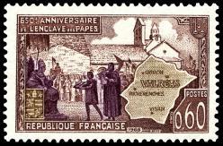 57 1562 25 05 1968 650eme anniversaire de l enclave de valreas