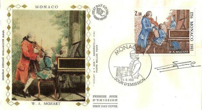 58 1271 04 05 1981 225 anniversaire de la naissance de wolfgang amadeus mozart mozart a 7 ans avec son pere et sa s ur