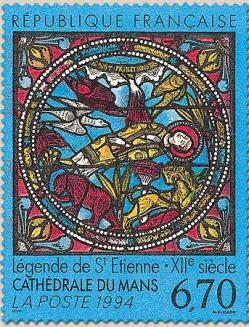 58 2859 1994 cathedrale du mans