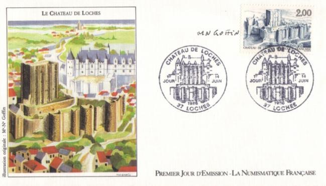 64 2402 14 06 1986 chateau de loches