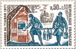 69 1671 27 03 1971 journee du timbre