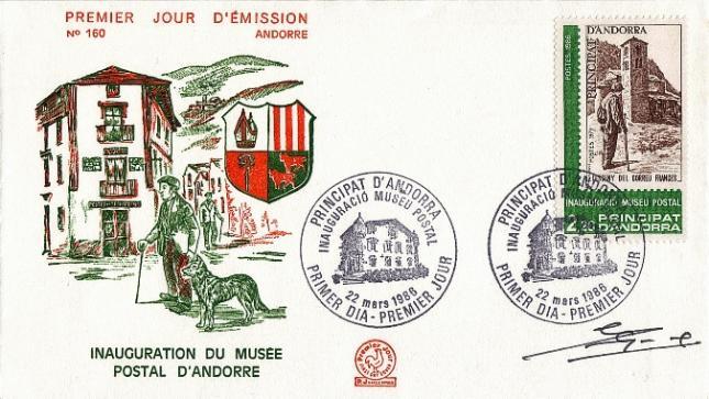 69 345 22 03 1986 andorre musee postal 1