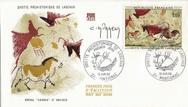 70 1555 13 04 1968 grottes de lascaux