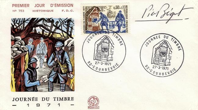 70 1671 27 03 1971 journee du timbre