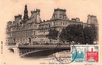71 1176 11 10 1958 jumelage paris rome