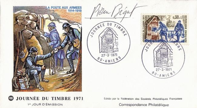 71 1671 27 03 1971 journee du timbre