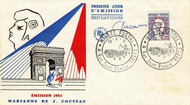 72 1282 23 02 1961 marianne de cocteau