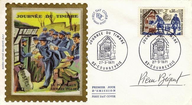 72 1671 27 03 1971 journee du timbre