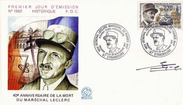 72 2499 28 11 1987 gl leclerc marechal de france 1
