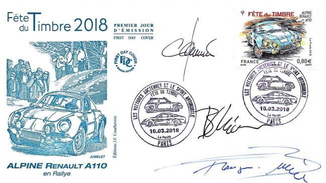 721 5204 10 03 2018 fete du timbre 2018 renault alpine