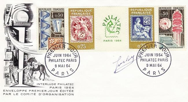 73 1414 1415 09 05 1964 philatec