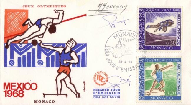 736 737 29 04 1968 mexico 1968