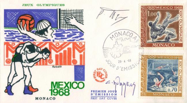 739 740 29 04 1968 mexico 1968