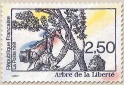 74 2701 01 06 1991 arbre de la liberte