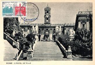 75 1176 11 10 1958 jumelage paris rome