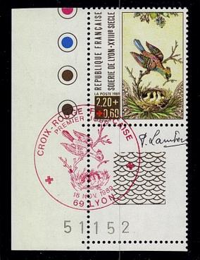 75 2612 18 11 1989 croix rouge
