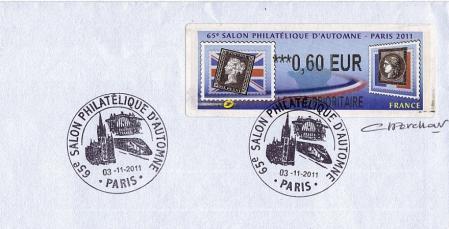 76 03 11 2011 65eme salon philatelique d automne