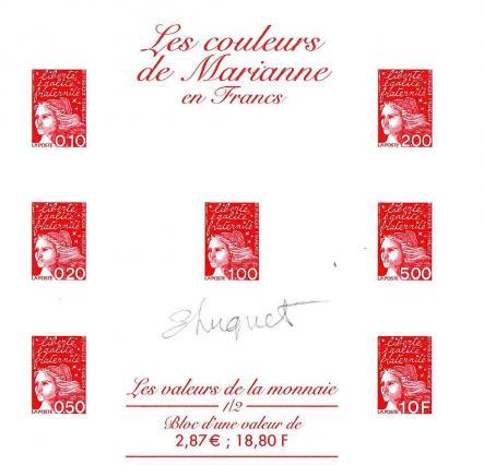 76a bf n 41 12 11 2001 les valeurs de la monnaie 1 2