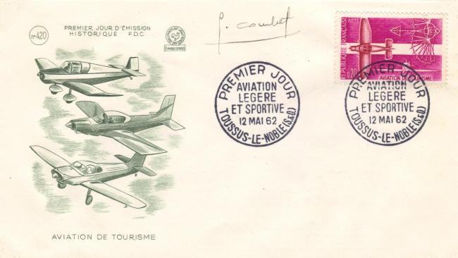 78 1341 12 05 1962 aviation de tourisme 1