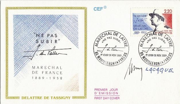 79 2611 18 11 1989 marechal de lattre 1
