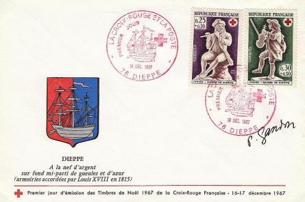 83 1540 18 12 1967 croix rouge 1