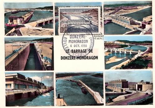 9 1078 06 10 1956 barrage de donzere mondragon 3