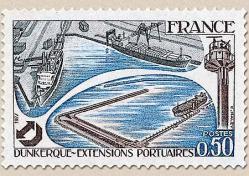 93 1925 12 02 1977 dunkerque extensions portuaires