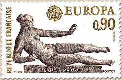 96 1790 20 04 1974 europa maillol 1